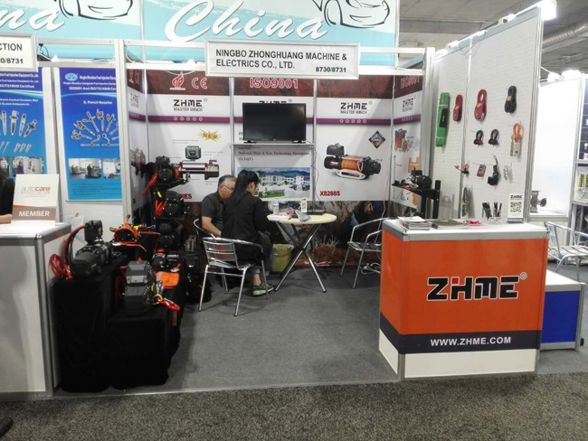 Welcome To Our Booth Number 8730 At Aapex 2016 Las Vegas Ningbo Zhonghuang Machine Electrics Co Ltd